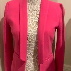 H&M pink blazer size 6